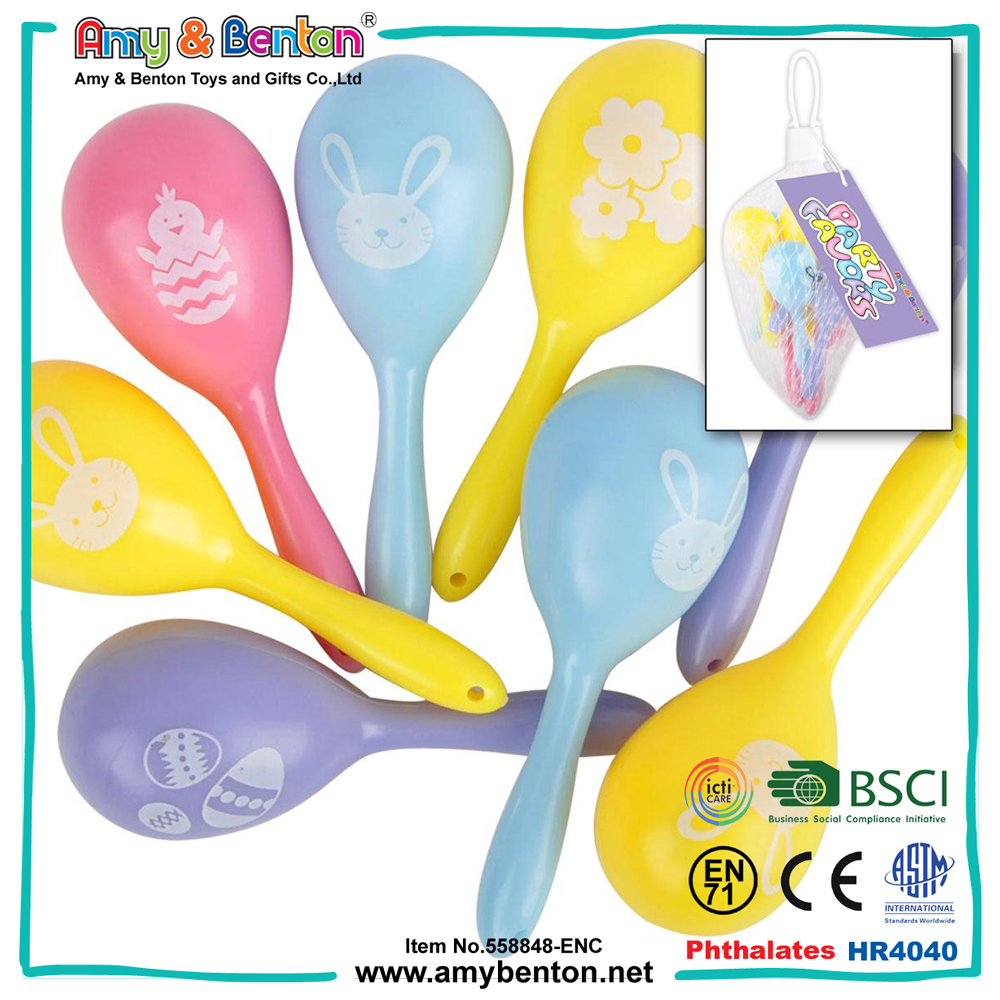 Easter gifts musical instruments toys small hand maracas