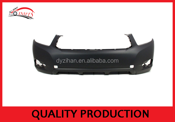 car front bumper used for toyota highlander 2010 front bumper
