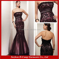 ME-042 Elegant empire bodice mermaid long party dress mother of the groom dresses lace mother of the groom dresses
