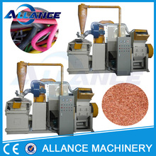 202 ALWC-400 copper granule making cable scrap recycling equipment