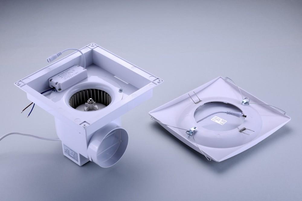 Bathroom fan vent