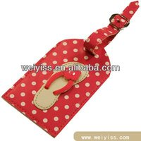 hard plastic bag tag in red color baggage tags with handle luggage transparent for promotion gifts2013