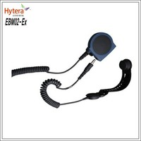Fire skull vibration headset (ATEX) EBM02-Ex for TC-700Ex dmr walkie talkie