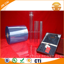 0.5mm Transparent PVC Rigid Plastic Film for Printing