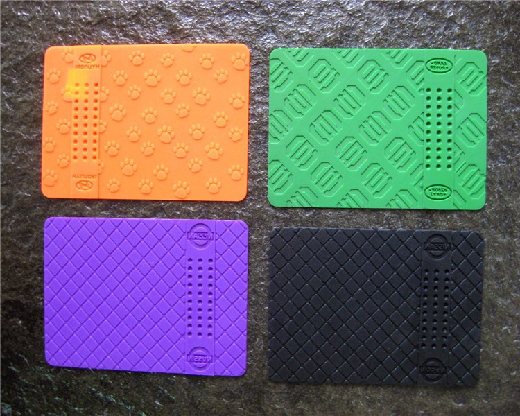 -Multi Use Silicone Car Dashboard Sticky Pad , car Non-slip Mat