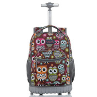 China Made Customized School Student Trolley Backpack