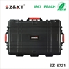 ABS case plastic equipment tool box with wheels