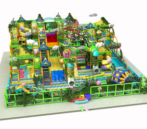 Newest jungle theme kids indoor digital playground models