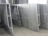 Color Coated or Galvanized Metal Scaffolding Framework For Building Support