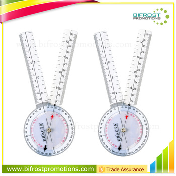 Accurate Plastic Medical Ruler M Size Goniometer