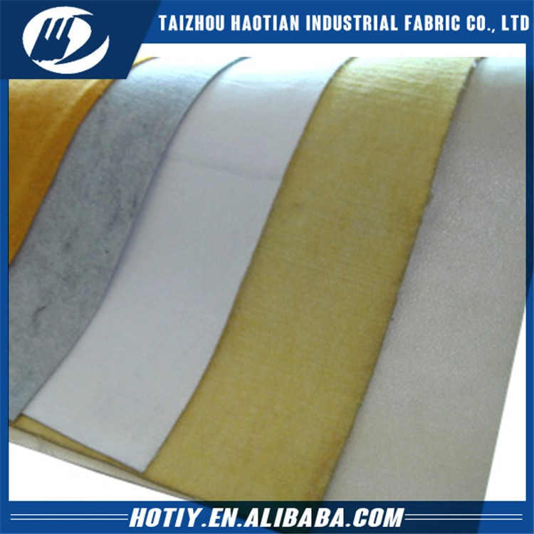 Factory manufacture various needle felt nomex filter cloth