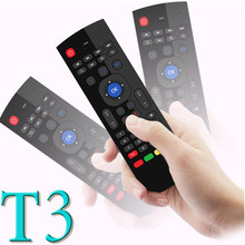 Distinctive T3 Rechargable Lithium ion Battery for android tv box 2.4g wireless air keyboard