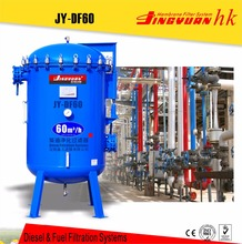 Capacity 500 tons daily fuel refined water separation from oil with continuous working pattern for oil depot