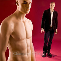 Fiberglass sexy sports male mannequin on sale