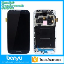 Lcd touch screen with digitizer assembly for samsung s4 super amoled