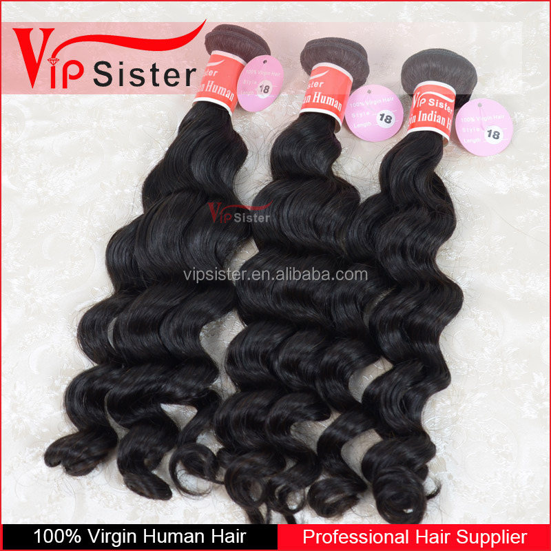 Double Wefts Single Drawn 100% Brazilian Hair 100 cheap remy hair extension wholesale