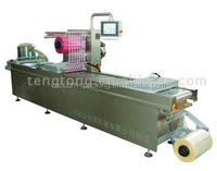 Plastic bag automatic vacuum packing machine