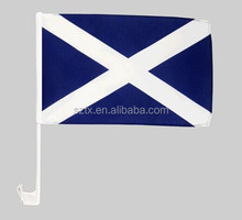 Promotional Scotland car flag Scotland flag car flag for Scotland