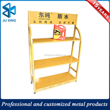 metal floor engine oil display rack motor oil display rack from china factory