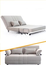Promotion 2 Seater Sofa bed Furniture/ Fabric Folding Sofa Bed B75-2p