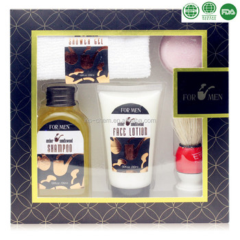 OEM/ODM professional wholesale Men's Bath Gift Set For Travel