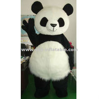 2013 newest plush panda mascot costumes for sale