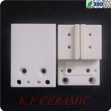 High quality wear resistance alumina ceramic pieces/brick for machinery ceramic parts