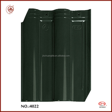 High sale excellent quality colored shiny ceramic roofing tiles