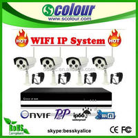 reverse camera wireless for truck 4ch ip security cctv system