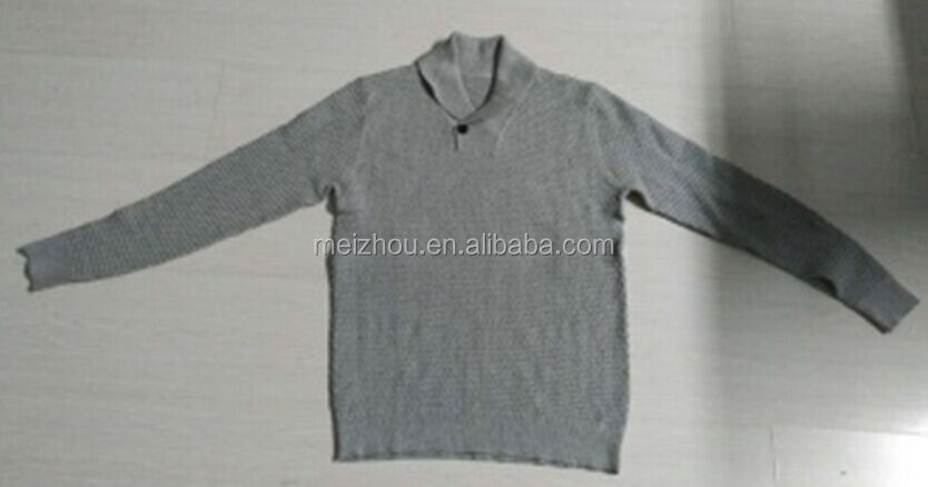 High Quality Men's pullover sweater men knitwear (LC016)