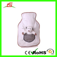 LE Wholesale White Hot Water Bottle Cover For Plush