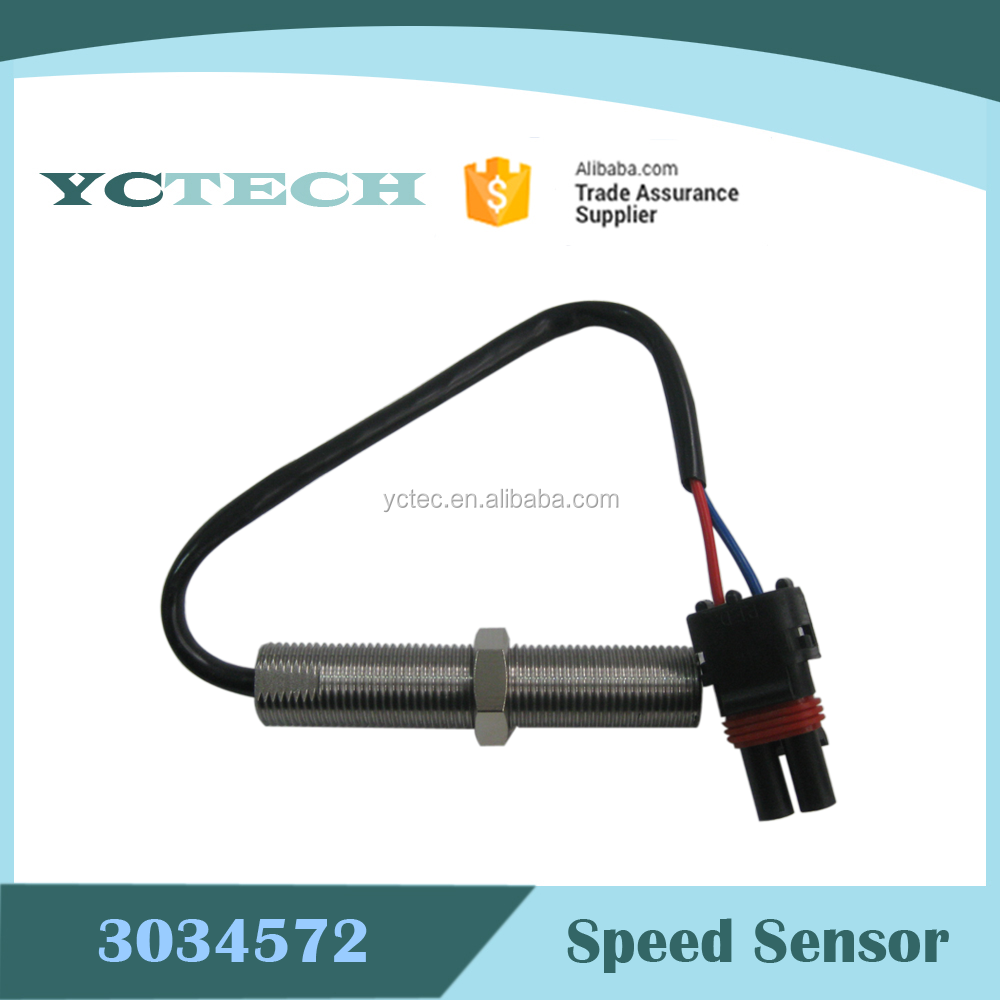 Hot Sale!China Factory Price!Magnetic Pickup 3034572 MPU Speed Sensor 80mm