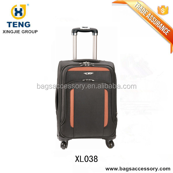Cities The Collection Hand Luggage, 42 Liters, Plain Black Set of 2 personalized luggage sets