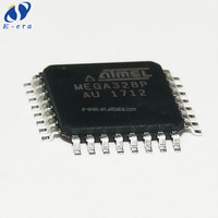 flash memory chip mega328p-au ATMEGA328P-AU TQFP32 integrated circuit