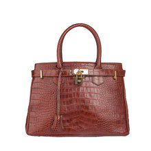 Crocodile genuine leather skin handbag thailand crocodile set bags ladies
