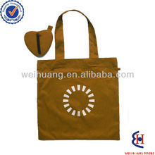 Foldable heart shape classic shopping bag