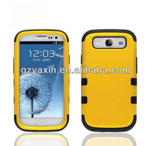Aluminum metal case for samsung galaxy s3 i9300,mobile phone case for Samsung galaxy S3 I9300 protector cover
