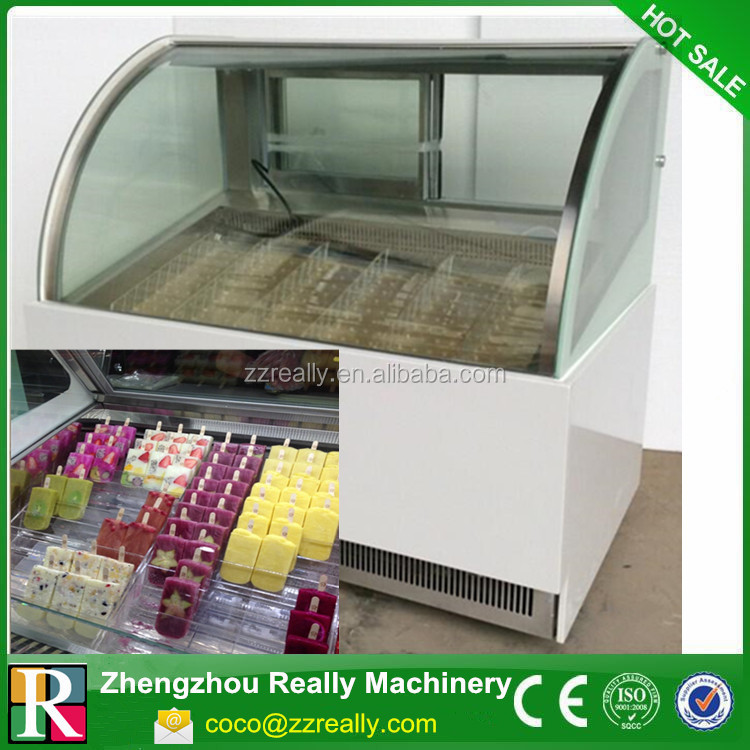 Large ice cream tricycle freezer