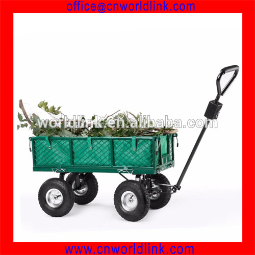 The householder Moving Old Junk Cleaning House Steel Utility Wagon