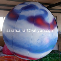 Various printing advertising led balloons for decoration led lights China Manufacturer Ballons