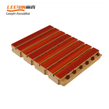 5-3mm Industrial Grooved Wooden Timber Acoustic Panel