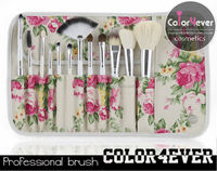 Go Pro 12pcs Rose case best seller Makeup Cosmetics Brushes
