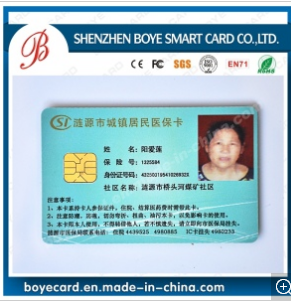 Sle5528 High Quality PVC Medicare IC Card with Best Price
