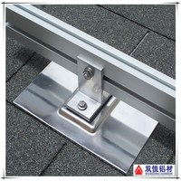 China reliable manufacturers support aluminum profile for solar panel mounting system
