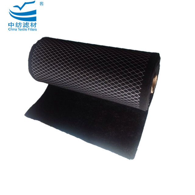 Harmful Gas Removal Carbon Air Filter Media For Car