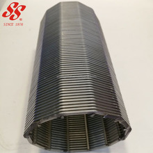 high quality stainless steel 304 316L wedge wire screen cylinder filter