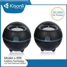 USB 2.0 System Power Wired Computer Speaker Magic ball music player for Desktop