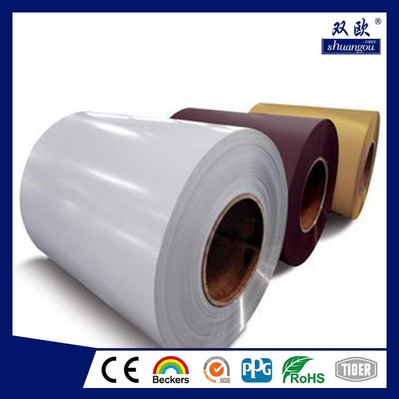 Hot selling acp and roofing pe/pvdf coated aluminum coil for wholesales