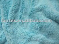 High quality plush fleece fabric for toy use