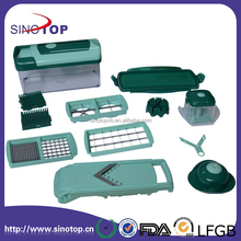 Durable No-Toxic Fusion Spiral Slicer As Seen On TV Fruit Cutter Vegetable Grater Food ABS Material Slicer Chopper